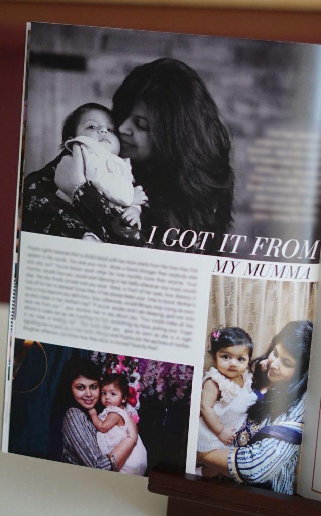 magazine image to show customised gift